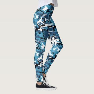 Legging Camo azul