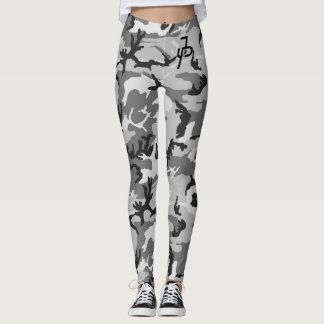 Legging camo preto de Paul do jake