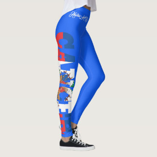 LEGGING CANCER HAVIC ACD DA BANDEIRA DE HAITI