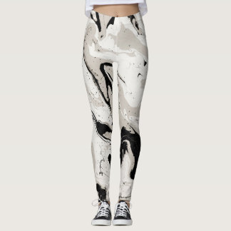 Legging Caneleiras abstratas do design