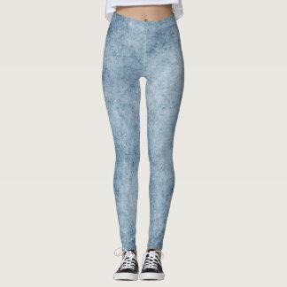 Legging Caneleiras azuis desvanecidas