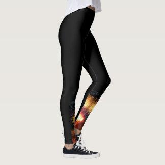 Legging Caneleiras bonitos com design sob seu joelho!