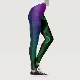 Legging Caneleiras coloridas abstratas originais