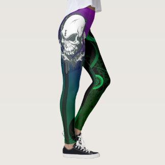 Legging Caneleiras coloridas abstratas originais com