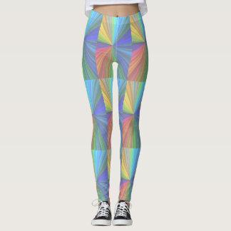 Legging Caneleiras coloridas Funky