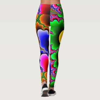 Legging Caneleiras coloridas selvagens
