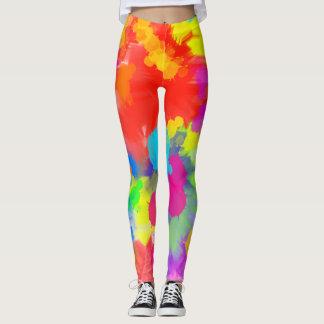 Legging Caneleiras coloridas Trippy
