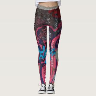 Legging Caneleiras coloridos dos grafites