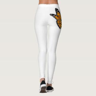 Legging Caneleiras com design da flor de borboleta
