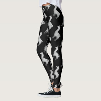 Legging Caneleiras concretas do lama