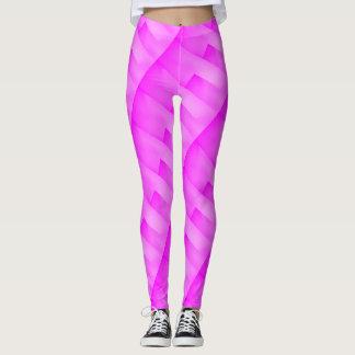 Legging Caneleiras cor-de-rosa na moda