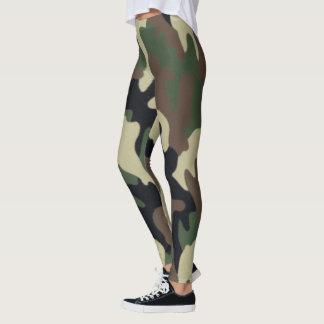Legging Caneleiras da camuflagem do exército