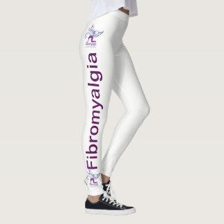 Legging Caneleiras da consciência da fibromialgia