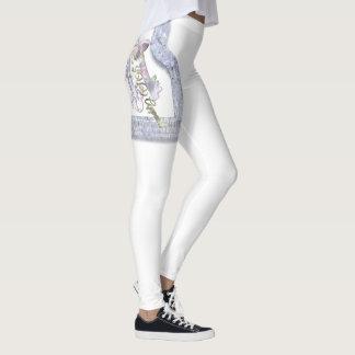Legging Caneleiras da edição limitada do roupa de HONiiE
