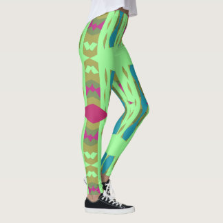 Legging Caneleiras da forma do divertimento de