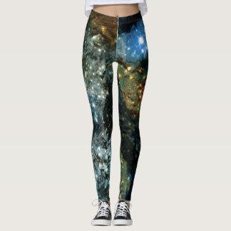 Legging Caneleiras da galáxia