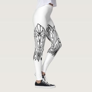 Legging Caneleiras da íris do nouveau da arte