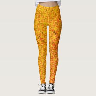 Legging Caneleiras da laranja e da oxidação