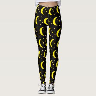 Legging Caneleiras da lua e das estrelas