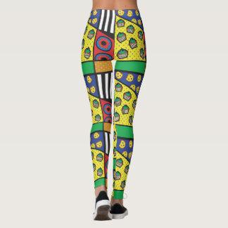 Legging Caneleiras da padaria do pop art