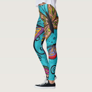 """Legging Caneleiras de """"Flutterbye"""""""