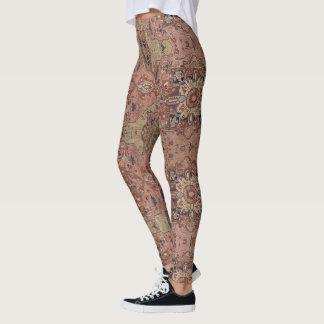 Legging Caneleiras de HAMbWG - de Compresssion - malva