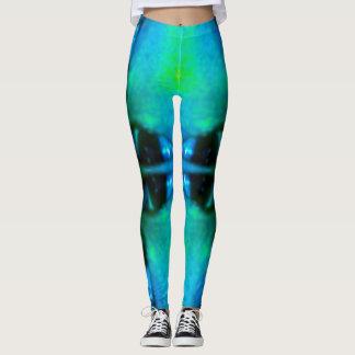 Legging Caneleiras de Lotus azul
