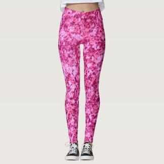 Legging Caneleiras de mármore cor-de-rosa