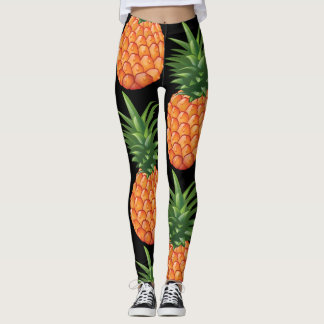 Legging Caneleiras do abacaxi do divertimento!
