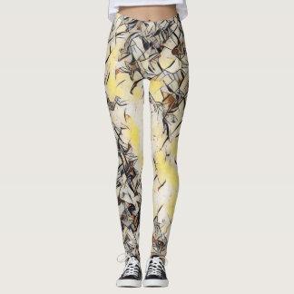 Legging Caneleiras do amor do delírio de Kandinsky