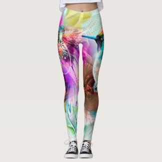 Legging Caneleiras do colibri