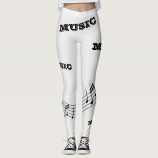 """Legging Caneleiras do conforto da """"música"""""""