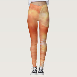 Legging Caneleiras do costume da arte de Digitas