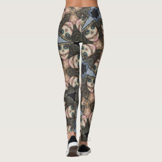 Legging Caneleiras do desenhista