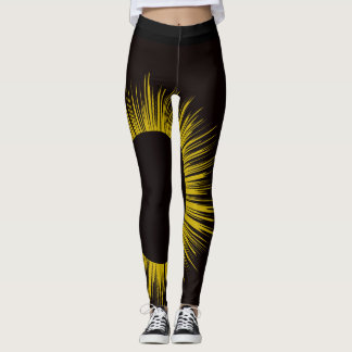 Legging Caneleiras do eclipse solar