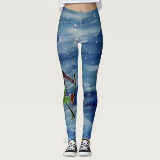 Legging Caneleiras do esqui