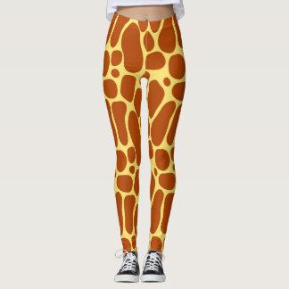 Legging Caneleiras do girafa