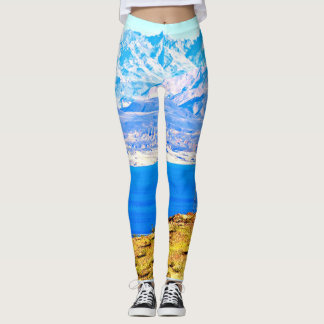 Legging Caneleiras do hidromel do lago women