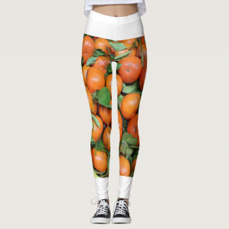 Legging Caneleiras do mandarino