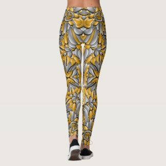 Legging Caneleiras do metal precioso