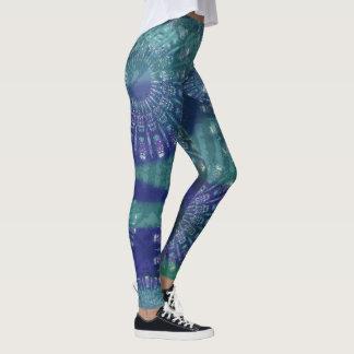 Legging Caneleiras do modelo da mandala