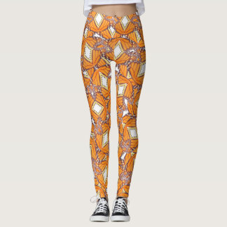 Legging Caneleiras do monarca
