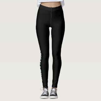 Legging caneleiras do #nenatribe em BL/BLUE