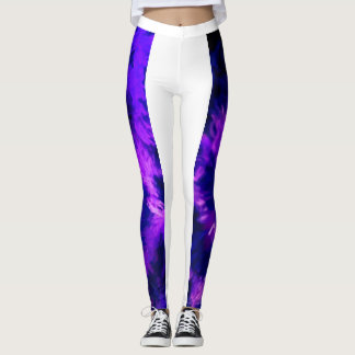 Legging Caneleiras do respingo de Splish no esmagamento da