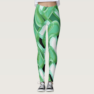Legging Caneleiras do sábio & do marfim II pelo artista
