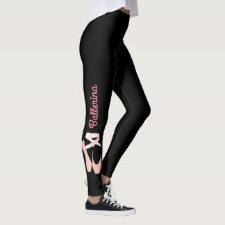 Legging Caneleiras do Spandex do balé