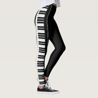 Legging Caneleiras do teclado