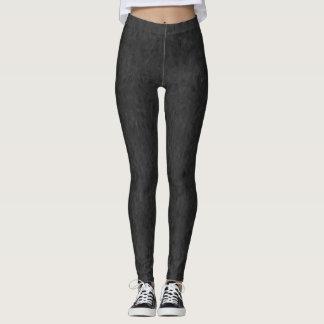 Legging Caneleiras do teste padrão e calças abstratas