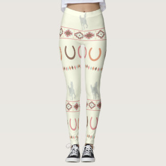 Legging caneleiras equestres do tribo