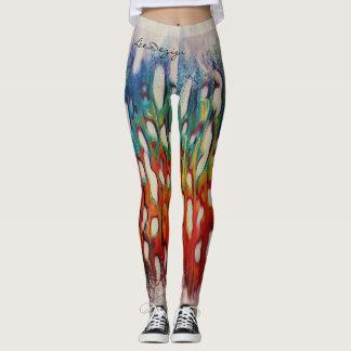 Legging Caneleiras exclusivas da forma dos arty